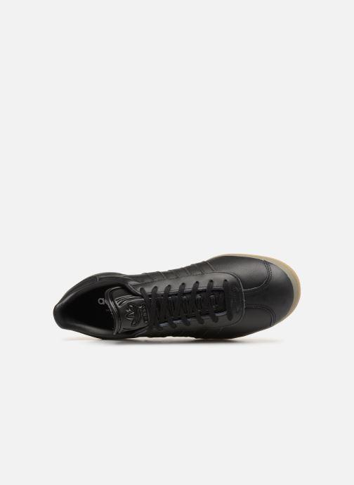 Sneaker adidas originals Gazelle schwarz ansicht von links