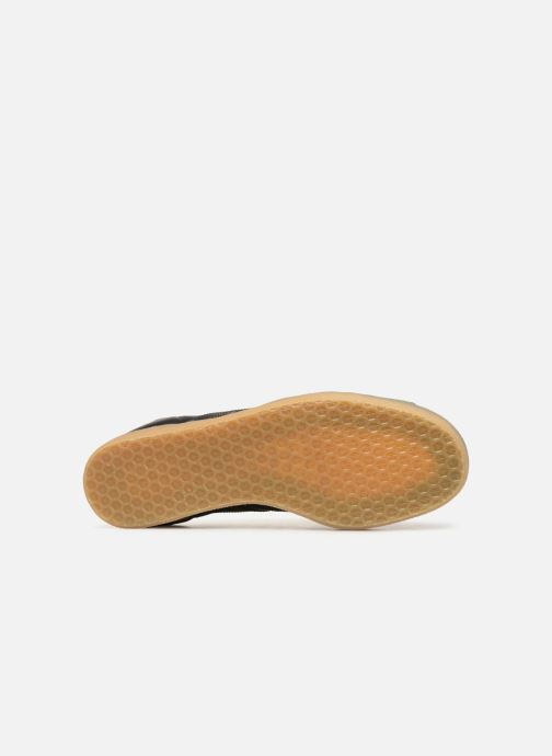Baskets adidas originals Gazelle Noir vue haut