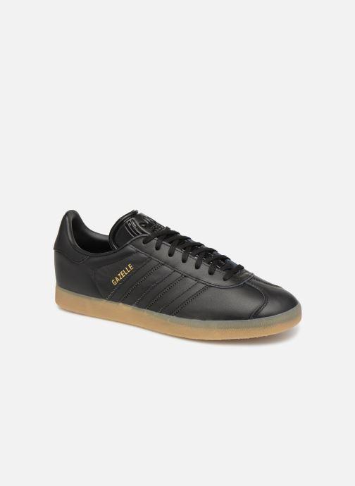 Baskets adidas originals Gazelle Noir vue détail/paire