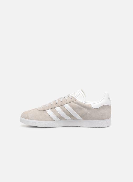 Sneakers adidas originals Gazelle Beige voorkant