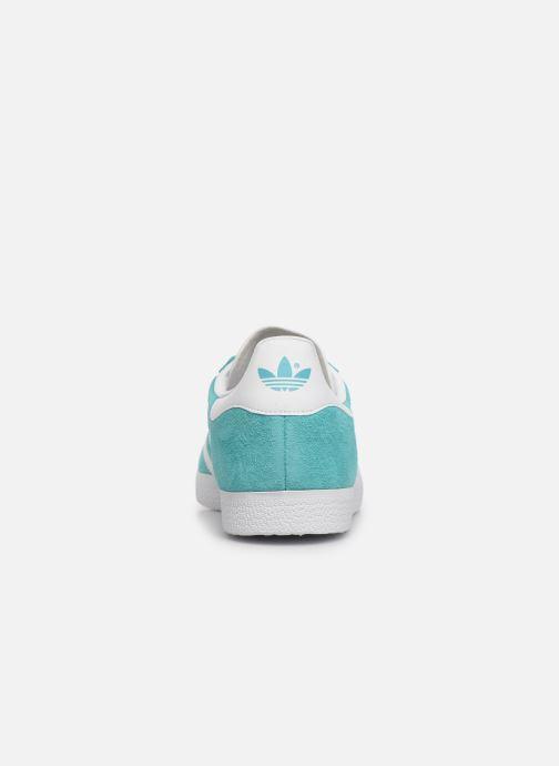 Baskets adidas originals Gazelle Bleu vue droite