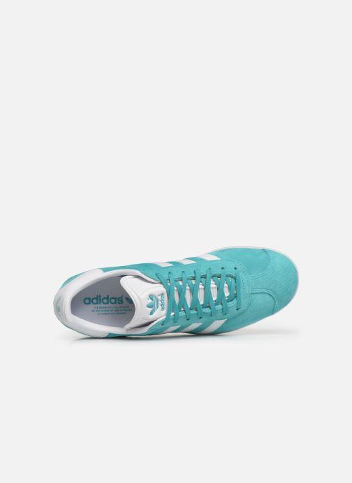 Deportivas adidas originals Gazelle Azul vista lateral izquierda