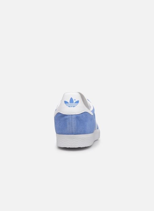 Sneaker adidas originals Gazelle blau ansicht von rechts