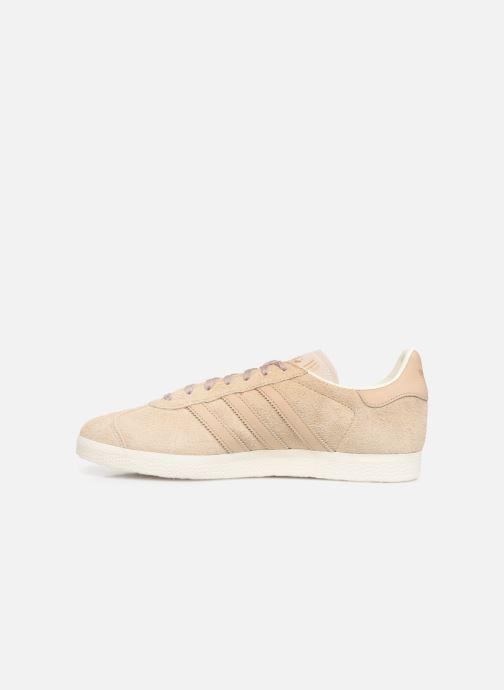 Sneaker adidas originals Gazelle beige ansicht von vorne