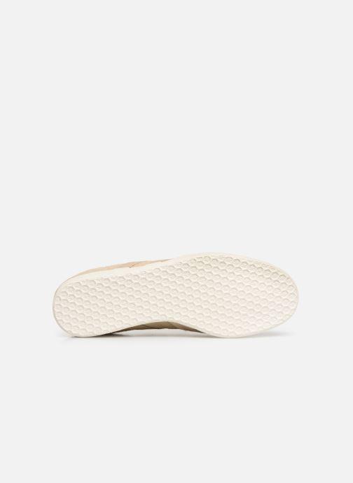 Sneaker adidas originals Gazelle beige ansicht von oben