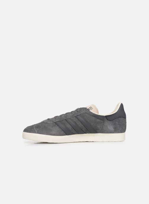 Sneaker adidas originals Gazelle grau ansicht von vorne