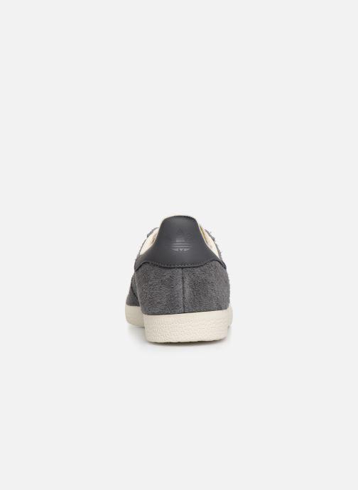Baskets adidas originals Gazelle Gris vue droite