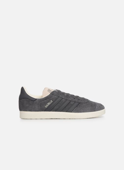Baskets adidas originals Gazelle Gris vue derrière