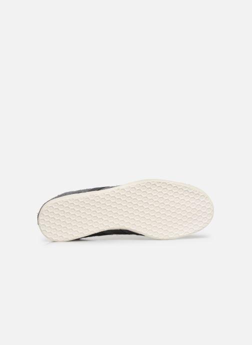 Sneaker adidas originals Gazelle grau ansicht von oben