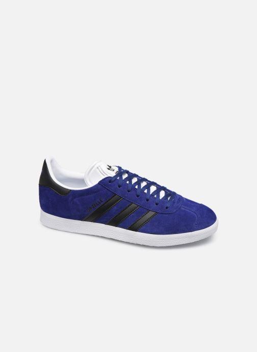 Trainers adidas originals Gazelle Blue detailed view/ Pair view