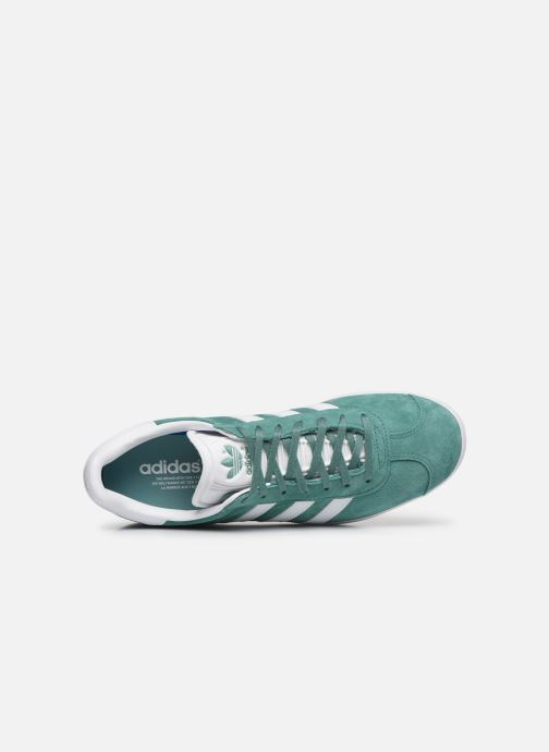 Sneakers adidas originals Gazelle Verde immagine sinistra