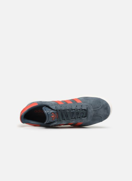 Sneakers adidas originals Gazelle Azzurro immagine sinistra