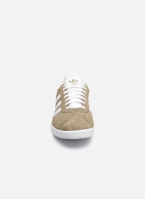 adidas originals Gazelle (Beige) - Baskets chez Sarenza (418941)