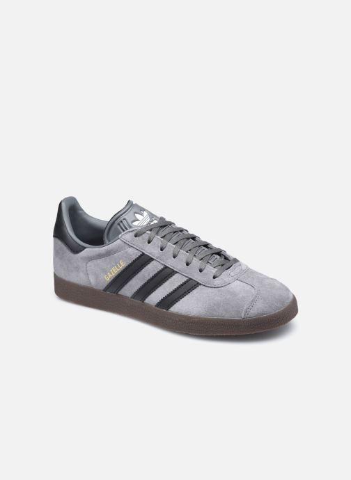 Baskets adidas originals Gazelle Gris vue détail/paire