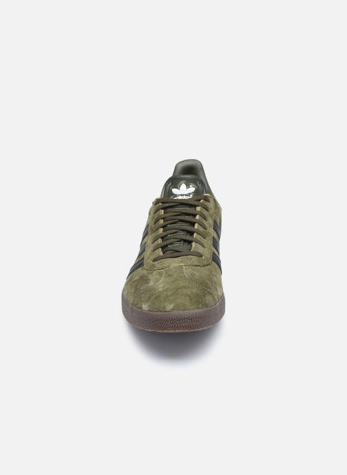 Deportivas adidas originals Gazelle Verde vista del modelo