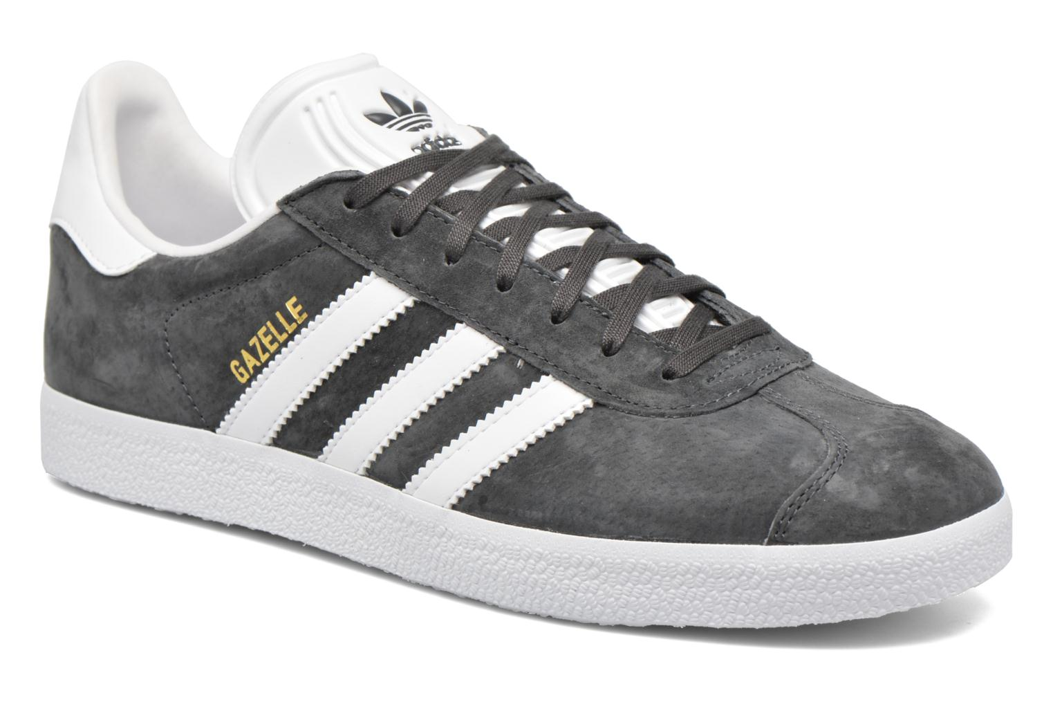 Adidas Originals Gazelle (Gris) - Baskets en Más cómodo Mode pas cher et belle