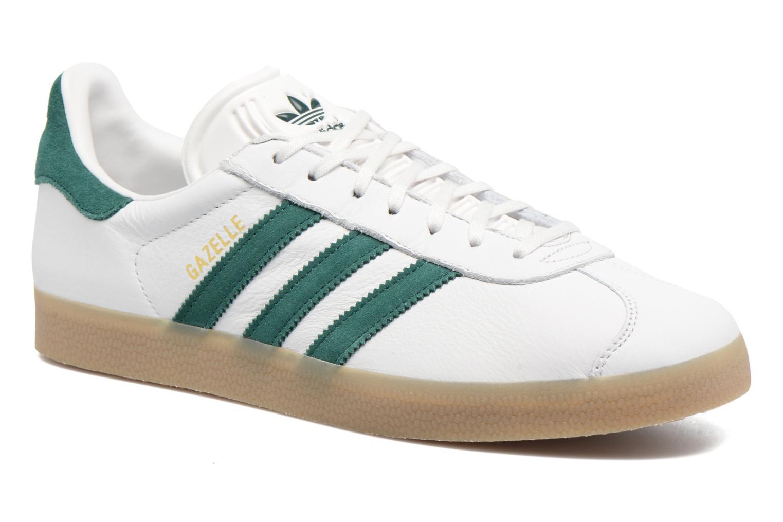buy popular 2f1c5 061dd ... reduced sneakers adidas originals gazelle hvid detaljeret billede af  skoene 53333 0f3ca