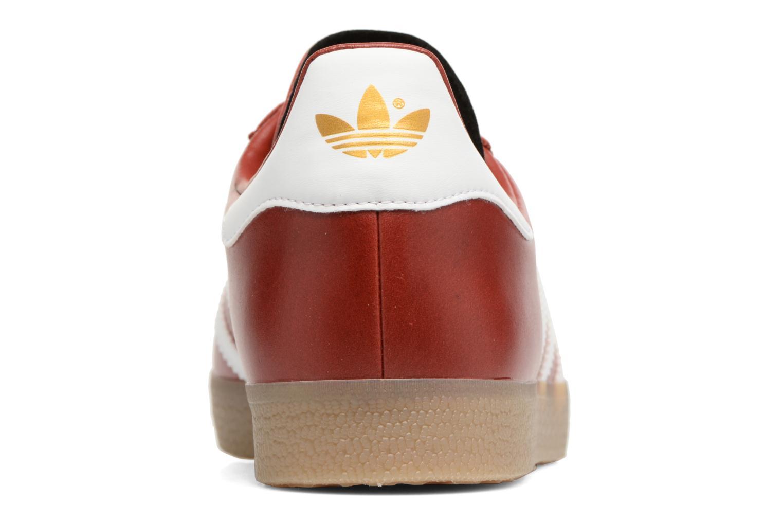 Baskets Adidas Originals Gazelle Bordeaux vue droite