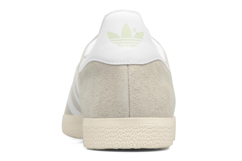 Baskets Adidas Originals Gazelle Vert vue droite