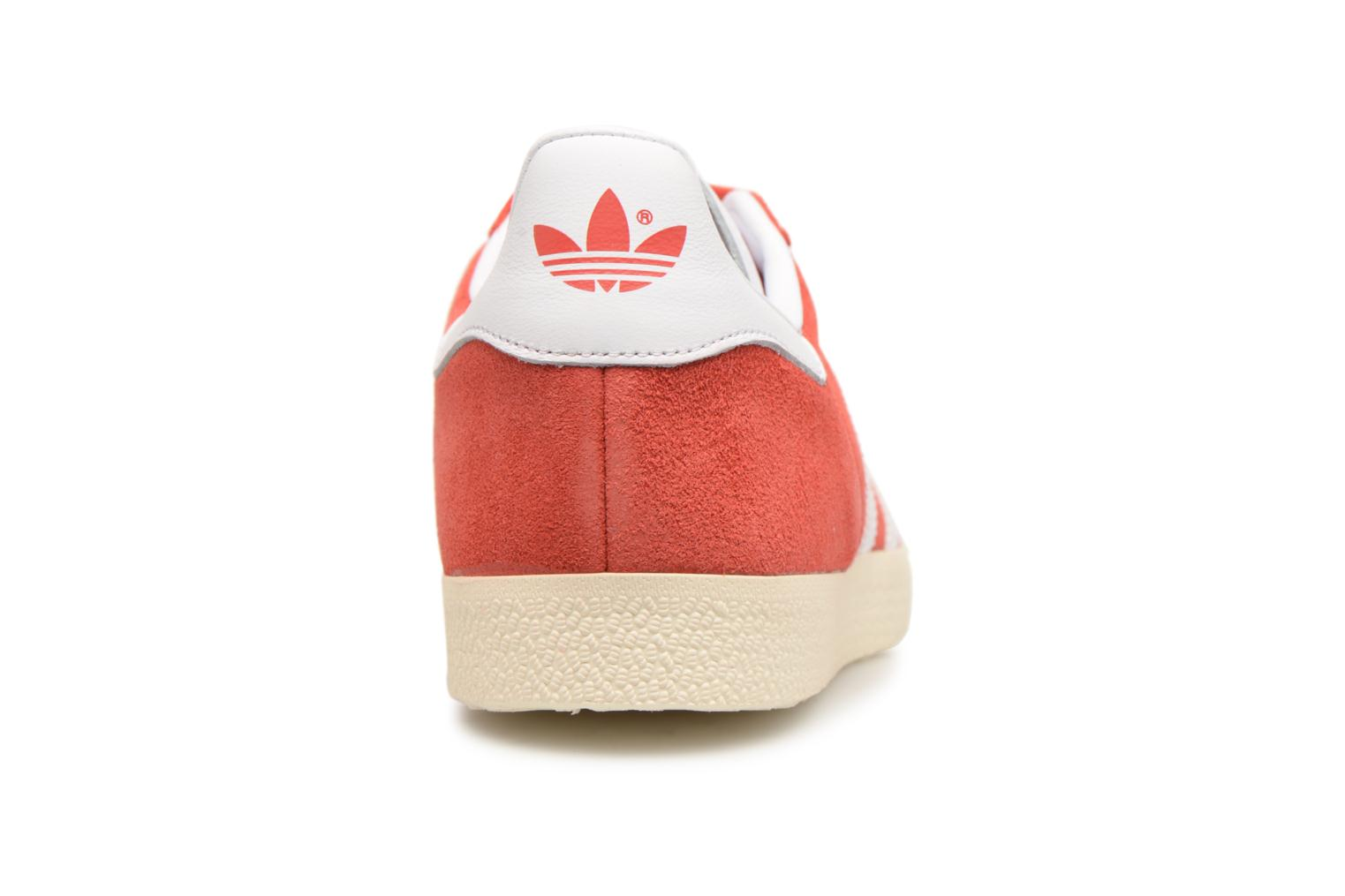 Baskets Adidas Originals Gazelle Rouge vue droite