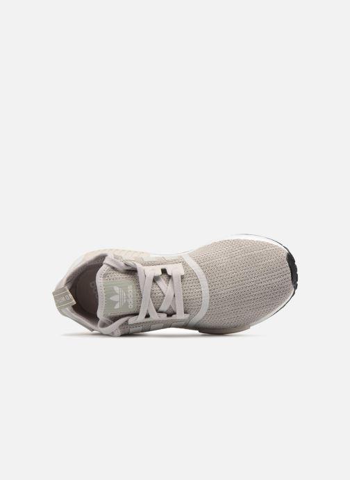 Sneaker adidas originals Nmd_R1 grau ansicht von links