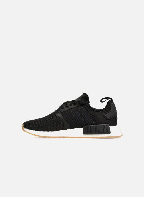 Sneaker Adidas Originals Nmd_R1 schwarz ansicht von vorne