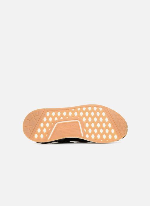 Sneaker adidas originals Nmd_R1 schwarz ansicht von oben