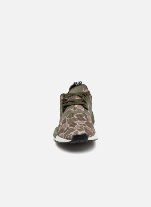 Sneaker adidas originals Nmd_R1 grün schuhe getragen