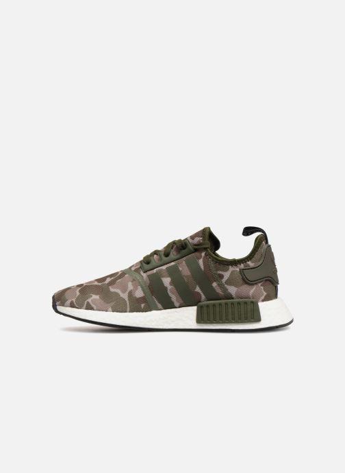 Sneaker adidas originals Nmd_R1 grün ansicht von vorne