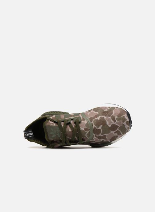 Sneaker adidas originals Nmd_R1 grün ansicht von links