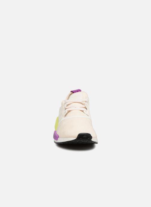 Baskets adidas originals Nmd_R1 Blanc vue portées chaussures