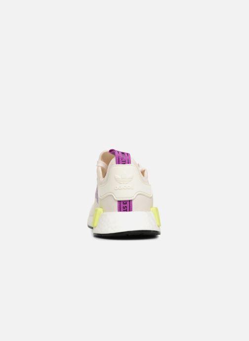 Baskets adidas originals Nmd_R1 Blanc vue droite