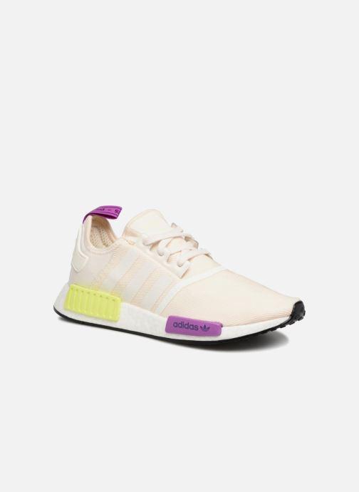 Baskets adidas originals Nmd_R1 Blanc vue détail/paire