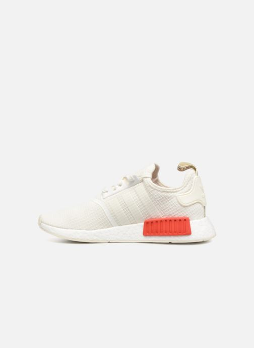 Sneakers adidas originals Nmd_R1 Wit voorkant