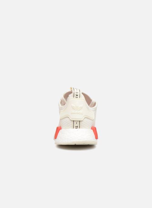 Sneakers adidas originals Nmd_R1 Wit rechts
