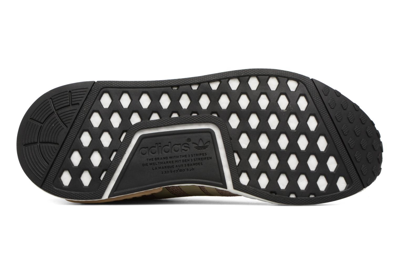 Baskets Adidas Originals Nmd_R1 Marron vue haut