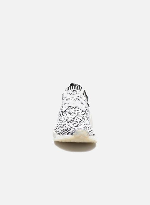 Sneakers adidas originals Nmd_R1 Pk Bianco modello indossato