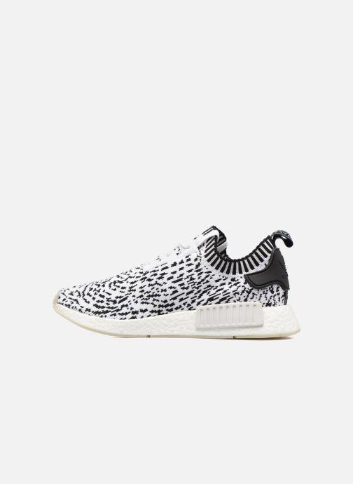 Sneakers adidas originals Nmd_R1 Pk Hvid se forfra