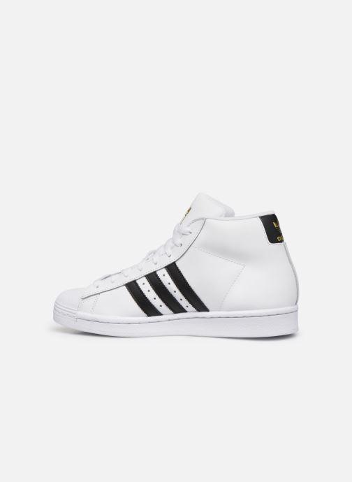 Sneakers adidas originals Pro Model Wit voorkant