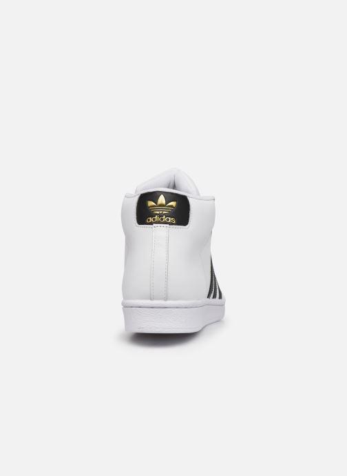 Sneakers adidas originals Pro Model Wit rechts