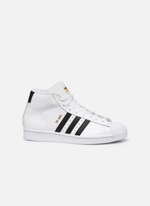 Sneakers adidas originals Pro Model Wit achterkant