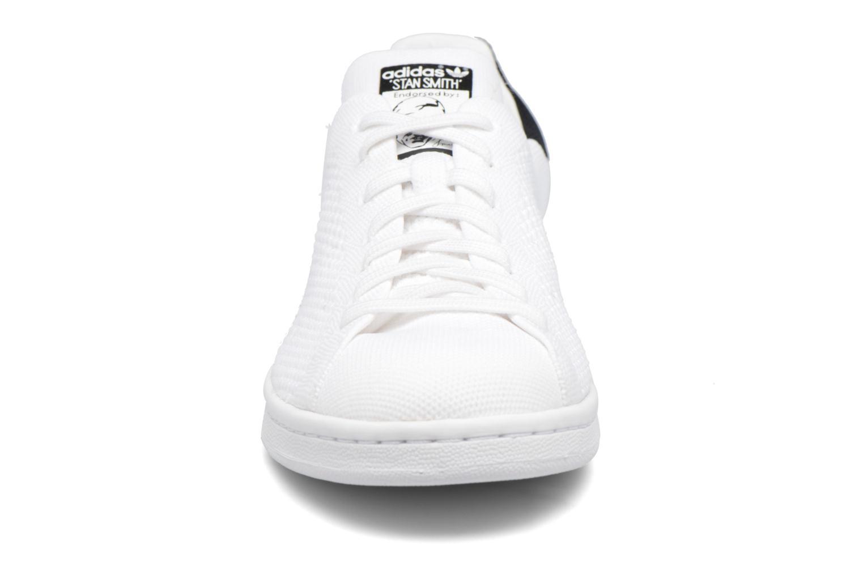 Baskets Adidas Originals Stan Smith Pk Blanc vue portées chaussures