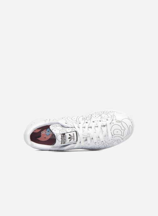 Baskets Adidas Originals Stan Smith Ro W Blanc vue gauche