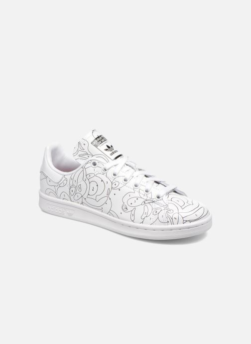 Baskets Adidas Originals Stan Smith Ro W Blanc vue détail/paire