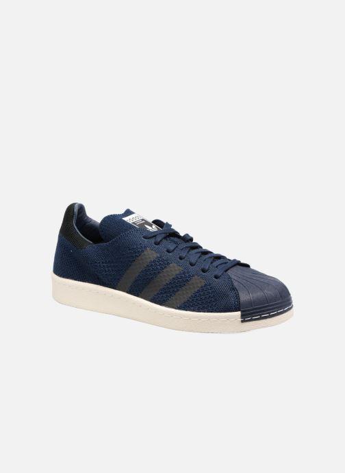 Trainers Adidas Originals Superstar 80S Pk Blue detailed view/ Pair view