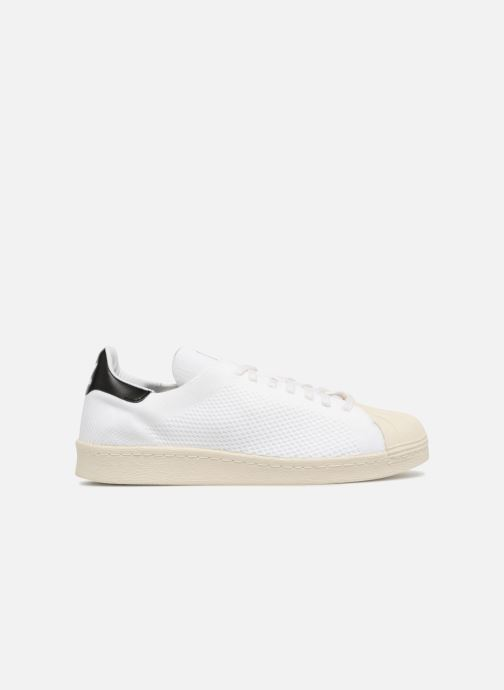 Baskets adidas originals Superstar 80S Pk Blanc vue derrière