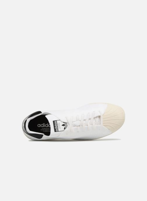 Baskets adidas originals Superstar 80S Pk Blanc vue gauche