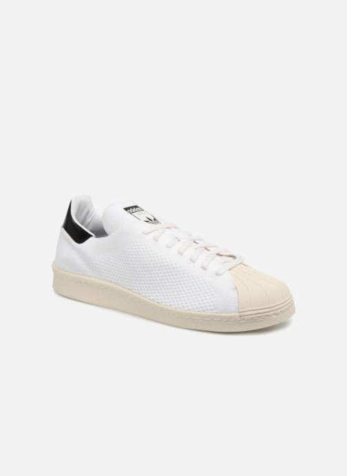 Baskets adidas originals Superstar 80S Pk Blanc vue détail/paire