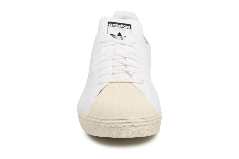 Baskets Adidas Originals Superstar 80S Pk Blanc vue portées chaussures
