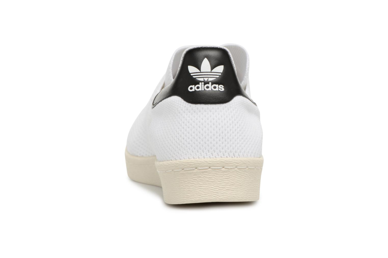 Baskets Adidas Originals Superstar 80S Pk Blanc vue droite
